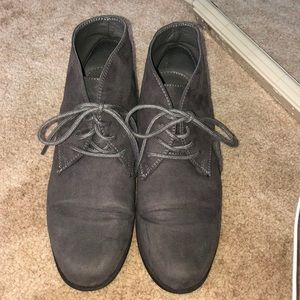 Shoes - Gray Booties